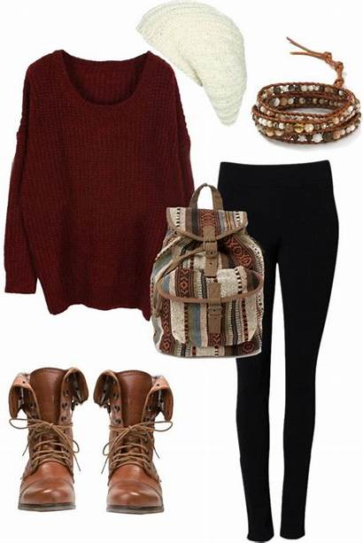 Winter Fall Wear Polyvore Warm Sweater Clothes