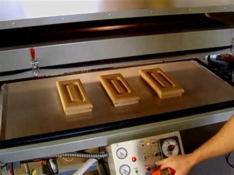Vacuum Press, PVC film Doors, MDF Kitchen Doors.   YouTube