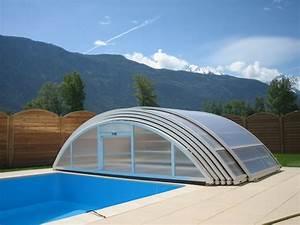 Abri Piscine Haut : poolabri abri piscine mi haut telescopique ~ Zukunftsfamilie.com Idées de Décoration