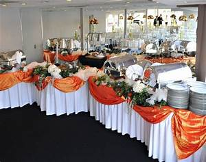 Decorating wedding food tables lds wedding receptions for How to decorate a wedding table