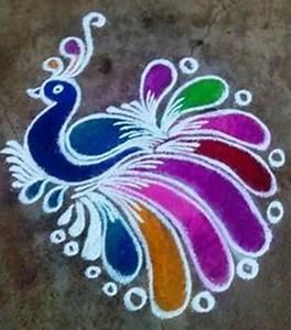 {New} {Latest} {Easy} Rangoli Designs For Diwali 2017 ...