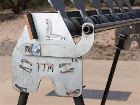 diy ar plate rack diy plate rack steel targets