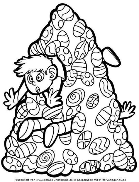ostern malvorlage osterhase mit eiern