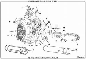 Homelite Ry09466 Blower Parts Diagram For Figure A