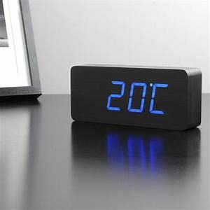 Tischuhren Modern Digital : click clock slab von gingko im design shop ~ Pilothousefishingboats.com Haus und Dekorationen