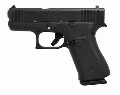Glock G43x 9mm Slide Compact Grip Sights