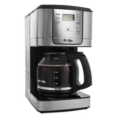 The filter basket can be easily pulled out and washed for quick and mr. Mr. Coffee 12-Cup Programmable Coffee Maker-JWX36-RB - The Home Depot