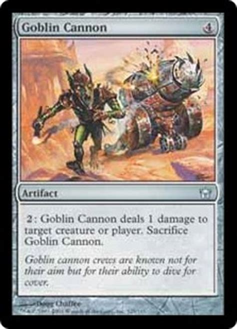 goblin charbelcher vintage deck list card search search quot mirrodin block quot gatherer magic