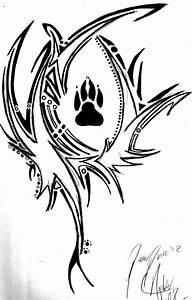 Wolf Paw Tribal by ArtemisTheHuntress on DeviantArt