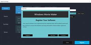 Limitations Of The Trial Version Windows Movie Maker