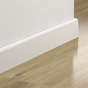 plinthe pergo blanche a peindre 14x58mm hue socoda With plinthe mdf a peindre