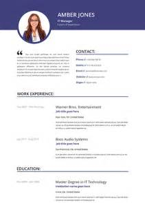 Cool Html Resumes by Cool Resume Templates E Commercewordpress