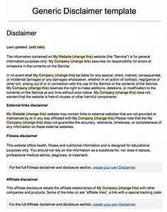 20 lovely legal action letter template uk images for Disclaimer template uk