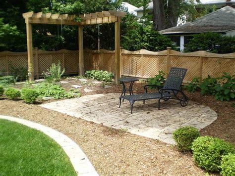 Backyard Landscape Ideas With Natural Touch  Quiet Corner