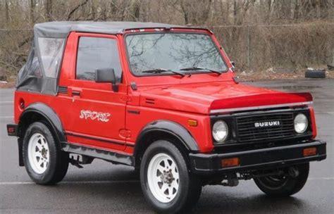 Suzuki Samurai Reliability by Never This 1988 Suzuki Samurai