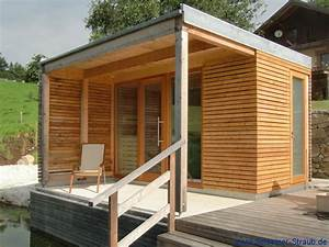gartensauna die ursprungliche sauna schreiner straub With französischer balkon mit sauna im garten