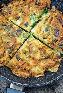 easy vegan chickpea omelette soy free gluten free