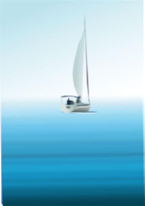 Sailboat At Sea by Clipart Boat At Sea
