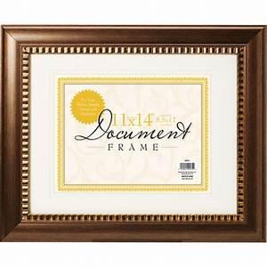 11x14 ornate bronze document frame decor walmartcom With multiple document frame