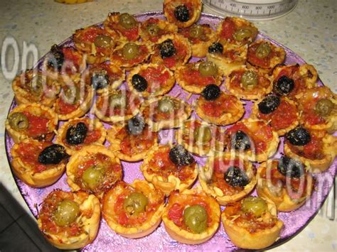 mini pizzas onestpasfatigue