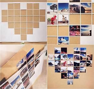 Bilder Collage Selber Machen : fotowand herz selber machen so dekorieren sie ihr zimmer ~ Watch28wear.com Haus und Dekorationen