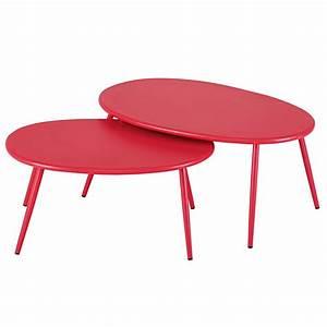 Table Basse Jardin Metal : table basse gigogne jardin le bois chez vous ~ Teatrodelosmanantiales.com Idées de Décoration
