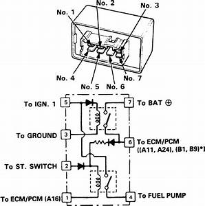 1992 Honda Accord Fuel Pump Wiring Diagram