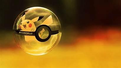 Pokemon Pokeball Pikachu Balls Wallpapers Poke Ubuntu