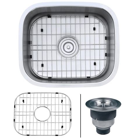 16 gauge vs 18 gauge sink for kitchen ruvati 21 in x 18 in single bowl undermount 16 gauge