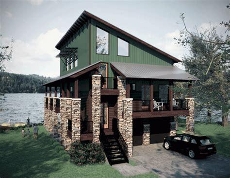 fresh small lake house plans lake home house plans freshouz