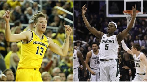 comparing michigan michigan state basketball schedules
