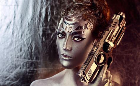 women, Model, Fantasy Art, Gun Wallpapers HD / Desktop and ...