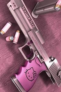 Hello Kitty Holding Gun | www.imgkid.com - The Image Kid ...