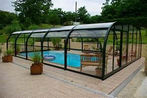Fabriquer Un Abri De Piscine : abri de piscine choisir un abri de piscine ~ Zukunftsfamilie.com Idées de Décoration