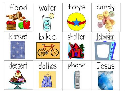 worksheets object lesson
