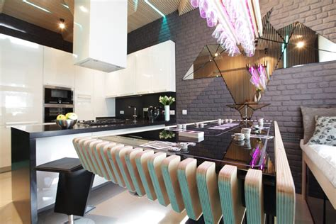 Cool Dining Room Design For Stylish Entertaining by Cool Modern Kitchen Ideal For Entertaining Idesignarch
