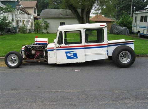 postal jeep rod 170 best images about postal vehicles on pinterest old