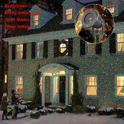 projector light shower holiday outdoor led laser light l home party lighting ebay