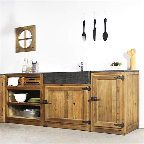 meuble cuisine frigo meuble de cuisine 1 porte poignées frigo chetre made