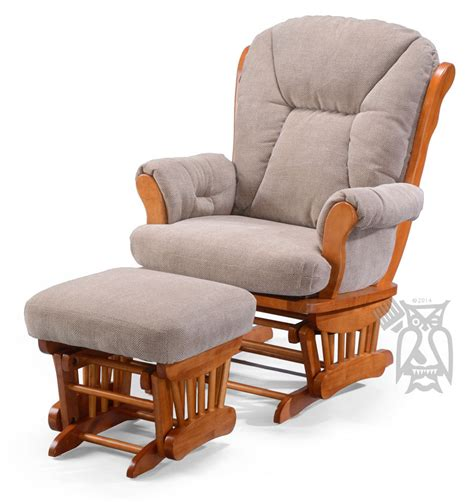 wide chair and ottoman hoot judkins manuel wide glider rocking chair ottoman