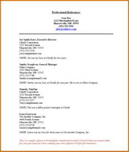 employment reference list template 6 how to write a list of references lease template