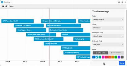 Timeline Block Airtable Support Navigating