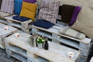 Garten Lounge Paletten : paletten m bel selber machen 4 kreative inspirationen ~ Whattoseeinmadrid.com Haus und Dekorationen