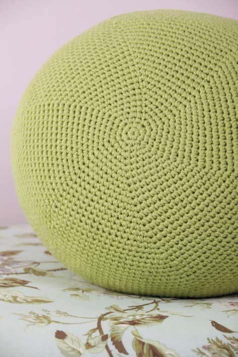 crochet pouf ottoman pattern free pattern gallery the pouf collection morale fiber