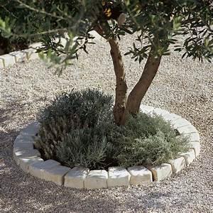 Bordure De Jardin Leroy Merlin : bordure courbe castel larzac b ton brun flamm h 8 x ~ Melissatoandfro.com Idées de Décoration