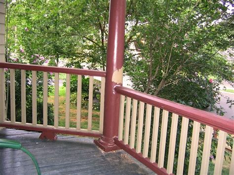 Banister International - porch railing height building code vs curb appeal
