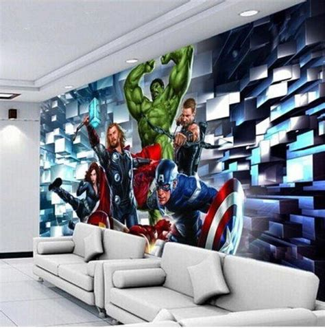 3d Wallpapers Boys by 3d Wallpaper The Customized Wall Mural Marvel