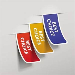 Best choice stickers vectors for Vector choice