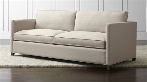 crate and barrel sofas and loveseats dryden queen sleeper sofa flax crate and barrel