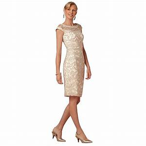 champagne short straight knee length godmother wedding With robe marraine
